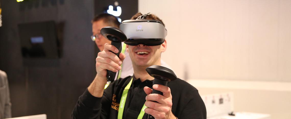 CES2018 性吧论坛VR邀约近百家客户洽谈,布局全球化
